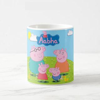 Buy Lolgifts Peppa Pig Mug With Name Print Birthday Gift Return Gift