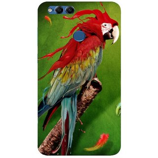 Back Cover for Huawei Honor 7X (Multicolor, Flexible Case)