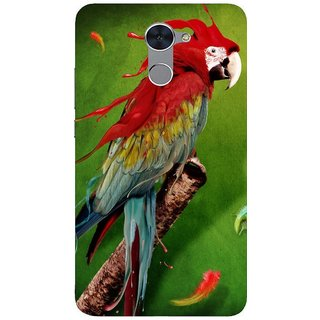 Back Cover for Honor Holly 4 Plus (Multicolor, Flexible Case)