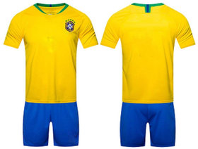 Uniq Football Jersey Brazil for all Kid's (Size from 2 years to 10 years)