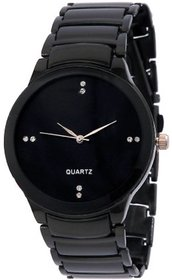 Watches Analogue Black Dial Men's Watch