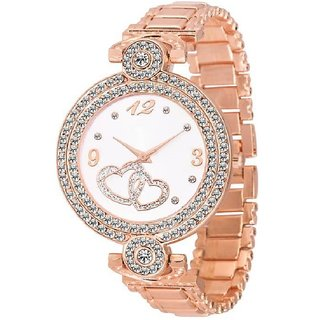 idivas 6 Fashion Italian Copper Design Women Analog watch for Girls and Ladies Watch - For Women