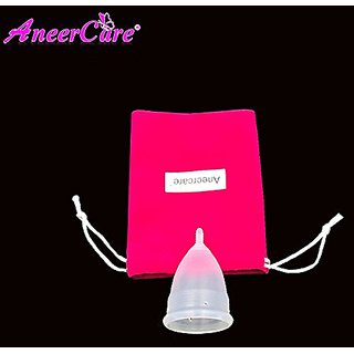 Medical Grade Silicone Menstrual Cup Soft Diva Cup Feminine Hygiene Product (Large)