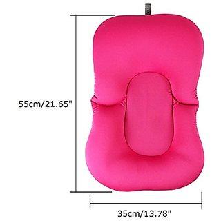 Baby Bath Tub Pillow Pad Lounger Air Cushion Floating Soft Seat Infant Newborn Non-slipt Bath Pillow Bathroom Accessorie