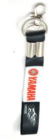 Faynci Premium Quality Fabric Yamaha Logo Hook Key Chain for Bike Lover