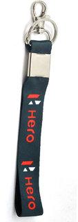 Faynci Premium Quality Fabric Hero Logo Hook Key Chain for Bike Lover