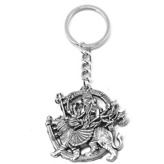 035f6c92c1 Buy Faynci Sherawali Mata Durga Devi Key Chain for Gifting Online - Get 35%  Off
