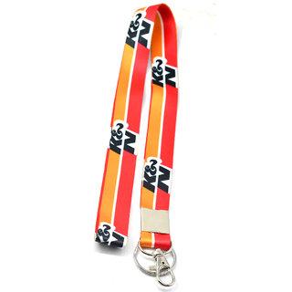Faynci Premium Quality Fabric K  N Hook Key Chain for Bike Lover