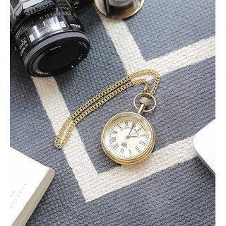 CrownLit Metal and Glass Pocket Clock