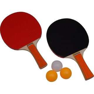Buy Havick Table Tennis Rackets Set 2 (2 TT Rackets 3 TT Balls ...