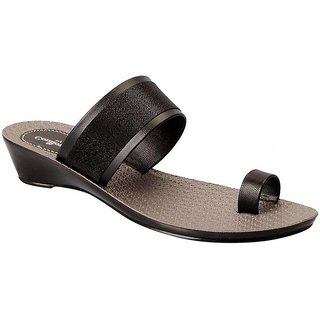 e1d3d5c71 Buy Bata Comfortina Black Slippers For Women Online - Get 41% Off