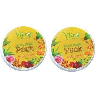 Aloe Face Pack 100 gm Set of 2