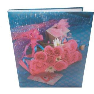 NATRAJ MULTI FLOWER PHOTO ALBUM ( SIZE 5x7-100 PHOTOS POCKETS ) MCN2208