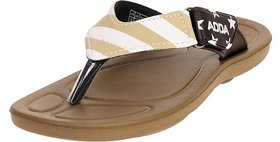 ADDA COMFORTABLE BROWN/ BEIGE COLOR FLIPFLOPS FOR WOMEN