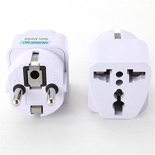 Electrical Socket Universal UK US AU to EU AC Power Socket Plug Travel Charger Adapter Converter 220V 10A Socket