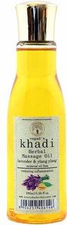 Vagad's Khadi Lavender And Ylang Ylang Massage Oil