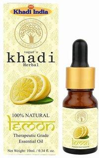 Vagad's Khadi Lemon Essential Oil