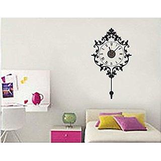 DIY Wall Clock 3D Sticker Home Office Decor 3D Wall Clock (Covering Area9050cm) - DIYCD811