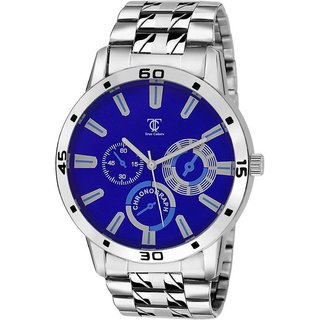 IDIVAS 3TC 03 Collection Bllue Classic officially Watch For Men