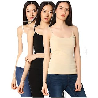 725ed4a1bb12ce Buy FAB69 Women s Cotton Spandex White