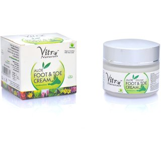 Premium Aloe foot toe cream 100 gm
