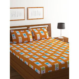 100% Cotton Double Bed Sheet Ivyrose