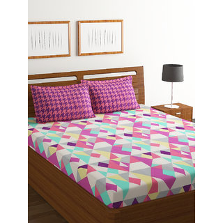 100% Cotton Double Bed Sheet Breeze