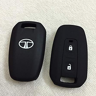 Autonext Silicone Key Cover For Tata Manza / Vista / Indigo Remote Key (2 Button)