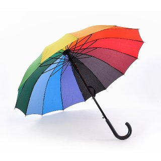Polyester fold Umbrella for protection against rain and UV rays