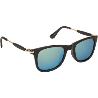 203f85f67d84 Buy Arzonai Stone Boss Mirrored Wayfarer Shape Black-Multi-Coloured UV  Protection Sunglasses For Men   Women  MA-038-S11   Online - Get 81% Off