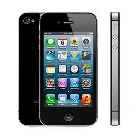 Apple Iphone 4s 16 GB Black ( Imported )