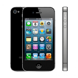 Apple 4s (A1387) 3.5 inches(8.89 cm) Display 1 GHz Processor Imported Smart Phone