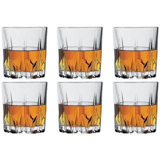 Being Creative Clear Whiskey/Wine Glasses (Set Of 6)