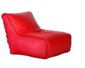 Styleco Bean Bags Bean Chair - Size Xl - Without Fillers - Cover Only (Red)