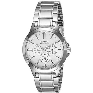 Casio Analog White Dial Mens Watch-MTP-V300D-7AUDF (A1174)