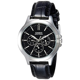 Casio Analog Black Dial Mens Watch-MTP-V300L-1AUDF (A1176)