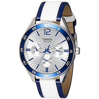 Casio Enticer Analog Silver Dial Mens Watch-MTP-E310L-2AVDF (A1181)