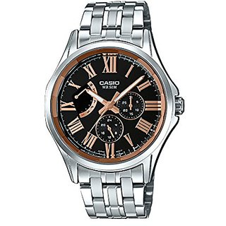 Casio Enticer Analog Black Dial Mens Watch-MTP-E311DY-1AVDF (A1192)