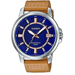 Casio Enticer Analog Blue Dial Mens Watch-A1242 (MTP-E130L-2A2VDF)