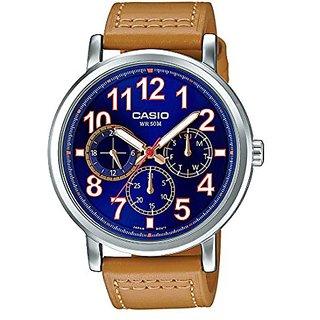 Casio Enticer Analog Blue Dial Mens Watch-A1243 (MTP-E309L-2B2VDF)