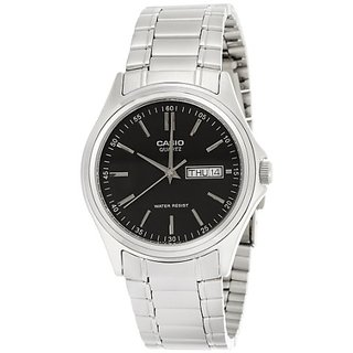 Casio Enticer Analog Black Dial Mens Watch - MTP-1239D-1ADF (A204)