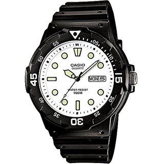 Casio Enticer Analog White Dial Mens Watch - MRW-200H-7EVDF (A597)