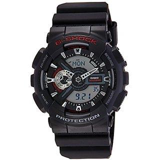 Casio G-Shock Analog-Digital Black Dial Mens Watch - GA-110-1ADR (G316)