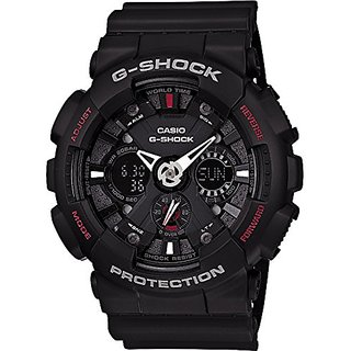 Casio G-Shock Analog-Digital Black Dial Mens Watch - GA-120-1ADR (G346)