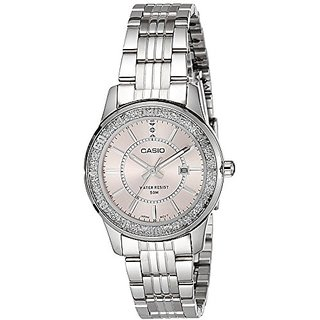 e8bbbcc70b4 Buy Casio Enticer Analog Pink Dial Womens Watch - LTP-1358D-4AVDF ...