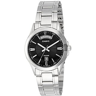 Casio Enticer Analog Silver Dial Mens Watch - MTP-1381D-1AVDF (A840)