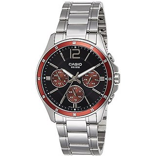 Casio Enticer Analog Black Dial Mens Watch - MTP-1374D-5AVDF (A951)