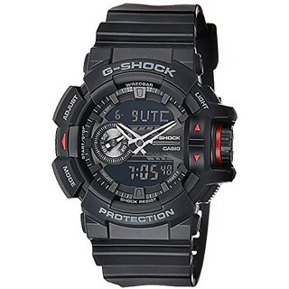 Casio G-Shock Analog-Digital Black Dial Mens Watch - GA-400-1BDR (G566)