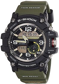 Casio G-Shock Analog-Digital Black Dial Mens Watch - GG