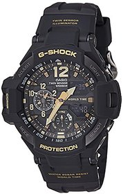 G-Shock Analog-Digital Black Dial Mens Watch-GA-1100GB-